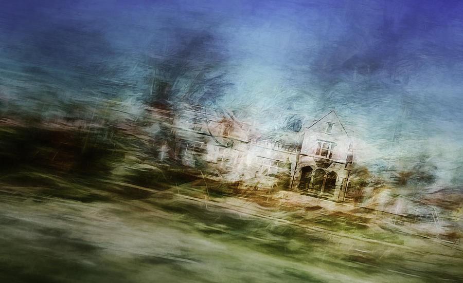 Digital Artwork Photograph - A Walk On The East Side by Scott Norris
