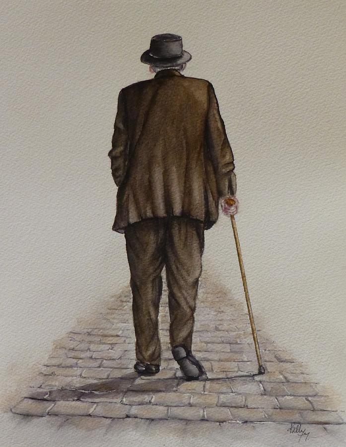 A Walk on the Old Cobblestone by Kelly Mills