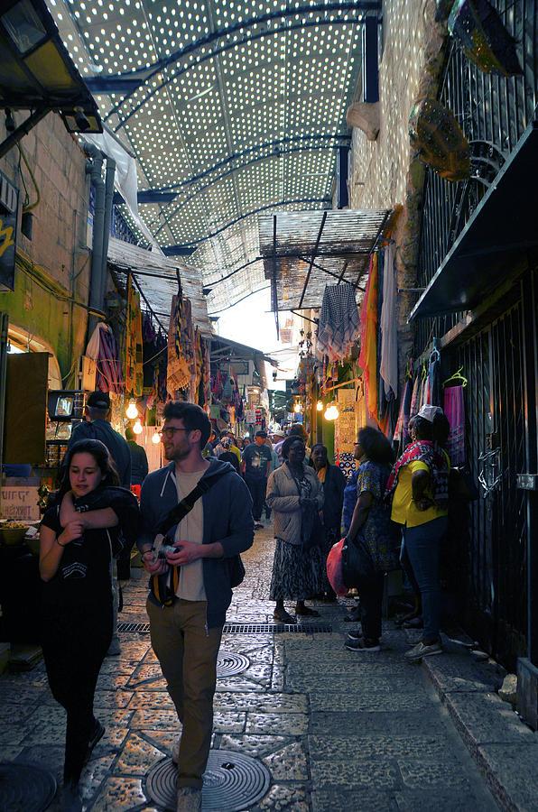 A Walk Through the Christian Quarter in the Old City of Jerusalem  by Alex Vishnevsky