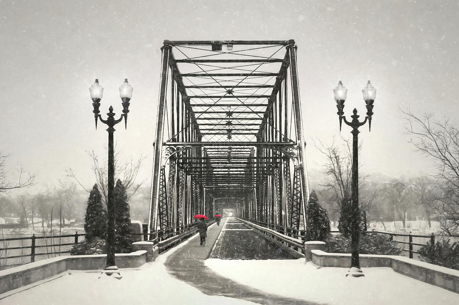 Bridge Photograph - A Walk Through Time by Lori Deiter