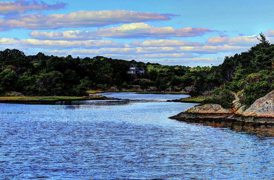 A water View Newport RI by Tom Prendergast
