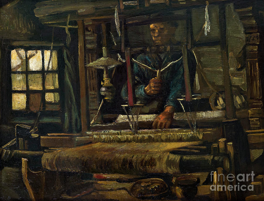 1884 Photograph - A Weavers Cottage by Peter Barritt