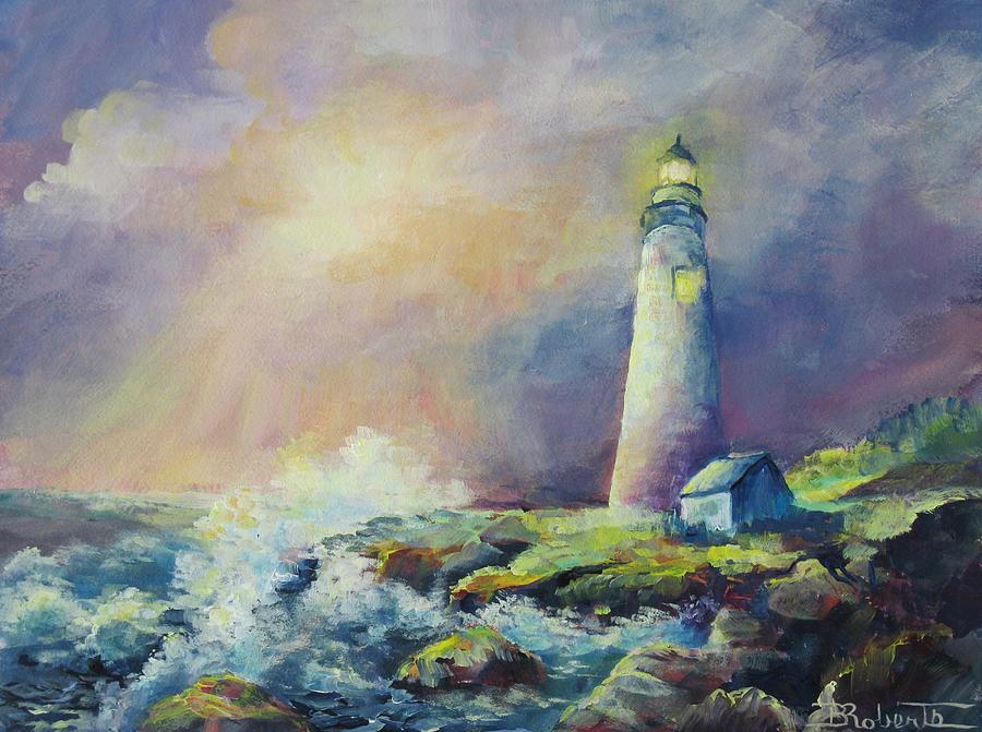 A Welcome Light by Bonny Roberts