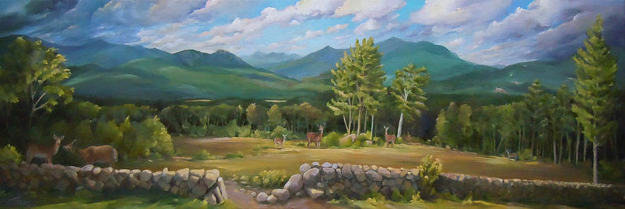 A  White Mountain View by Nancy Griswold