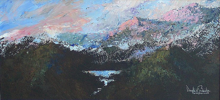 Wilderness Painting - A Wilderness View by Douglas Trowbridge