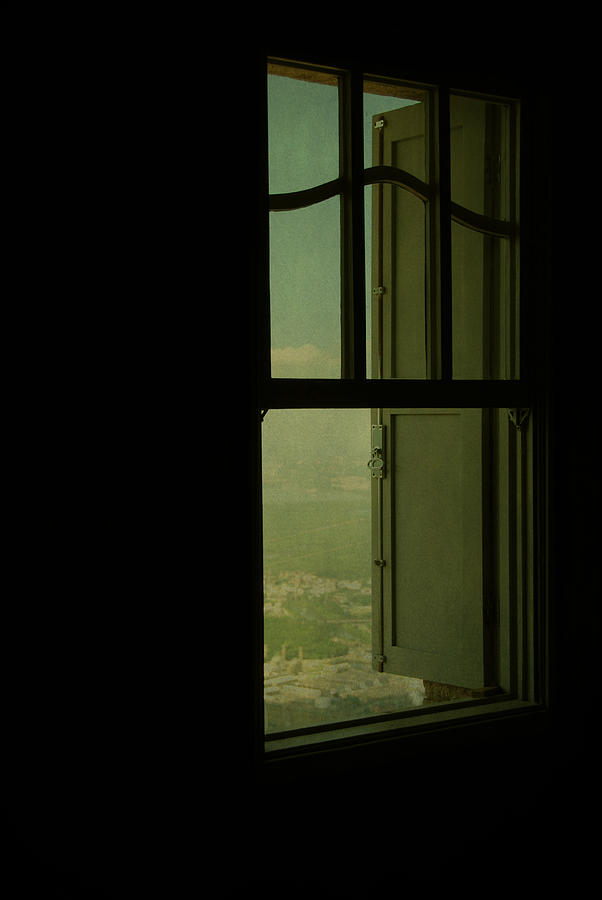 Illustration Photograph - A Window Out To The Sea by Valmir Ribeiro