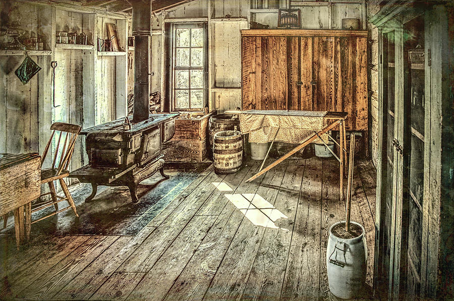 Midland Photograph - A Window To The Past by Wes Iversen