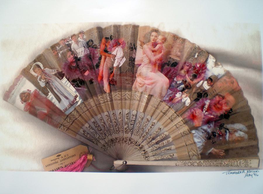 Fan Digital Art - A Womans World by Tammera Malicki-Wong