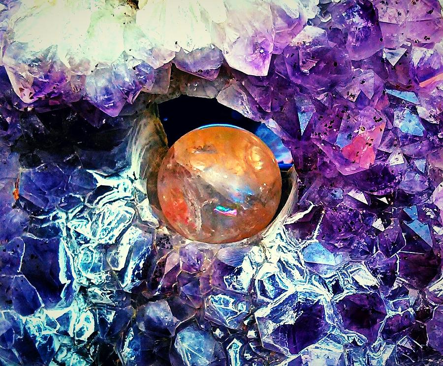A World Of Crystal by Max DeBeeson