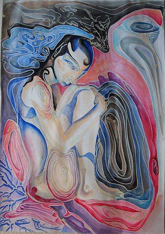 A World Of Dreams Mixed Media by Diana Bidulescu