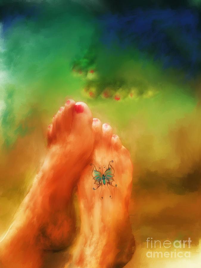 Summer Mixed Media - Aah Summer by Marilyn Sholin