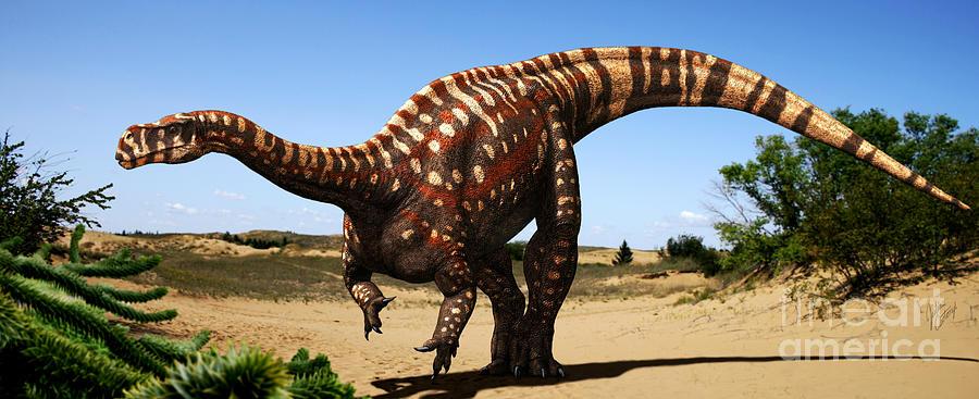 Aardonyx Digital Art - Aardonyx by Julius Csotonyi