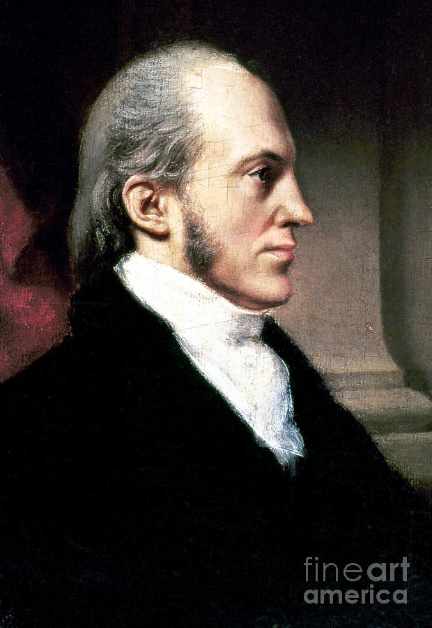 Aaron Burr Painting by...