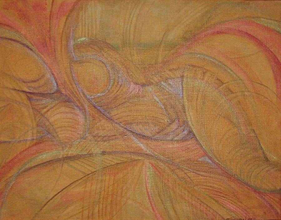 Female Painting - Abalone by Caroline Czelatko