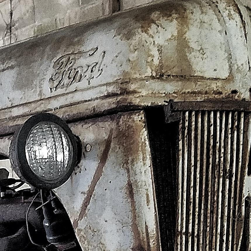 Abandon Photograph - Abanded Tractor 4 by Ed Lumbert