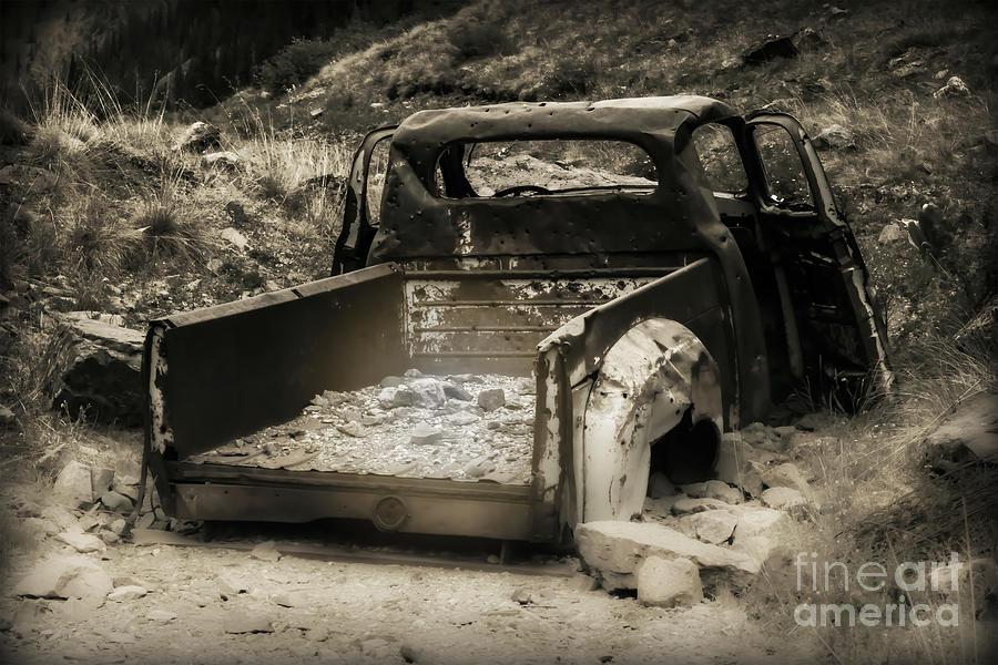 Truck Photograph - Abandonded Treasure by Scott and Amanda Anderson