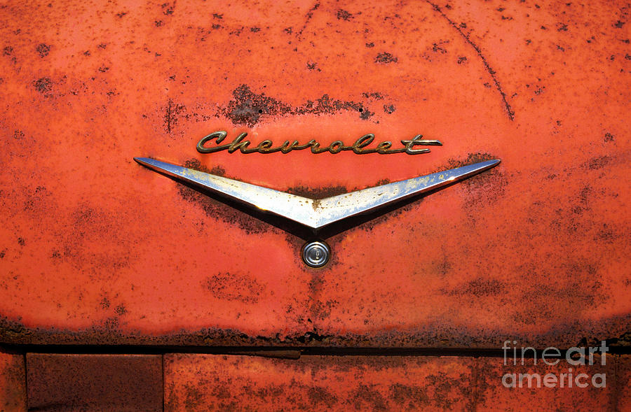 Chevrolet Photograph - Abandoned 1958 Chevy by Arni Katz