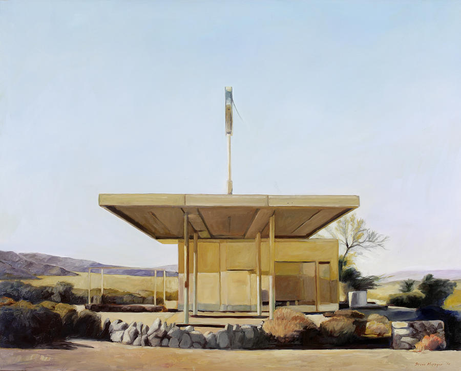 Gas Painting - Abandoned 4 by Steve Metzger