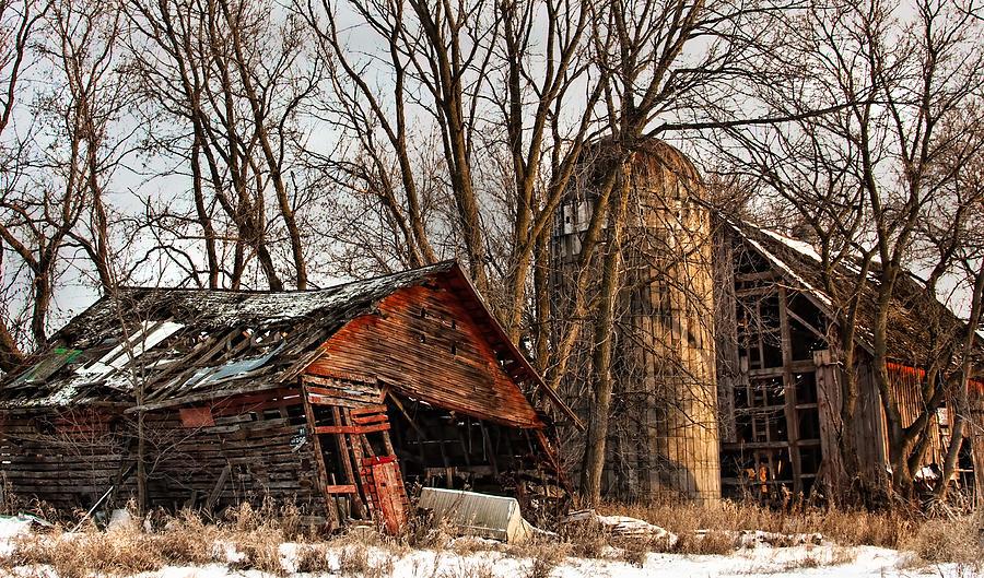 Barnyard Photograph - Abandoned And Forgotten by David Wynia