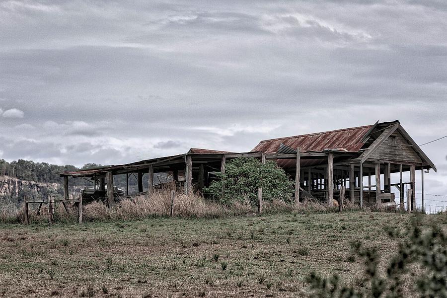 Barn Photograph - Abandoned Barn by Chris Hood