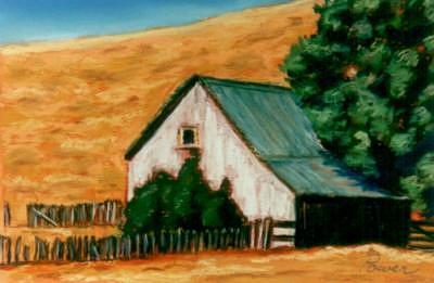 Abandoned Barn Painting by Joyce Power