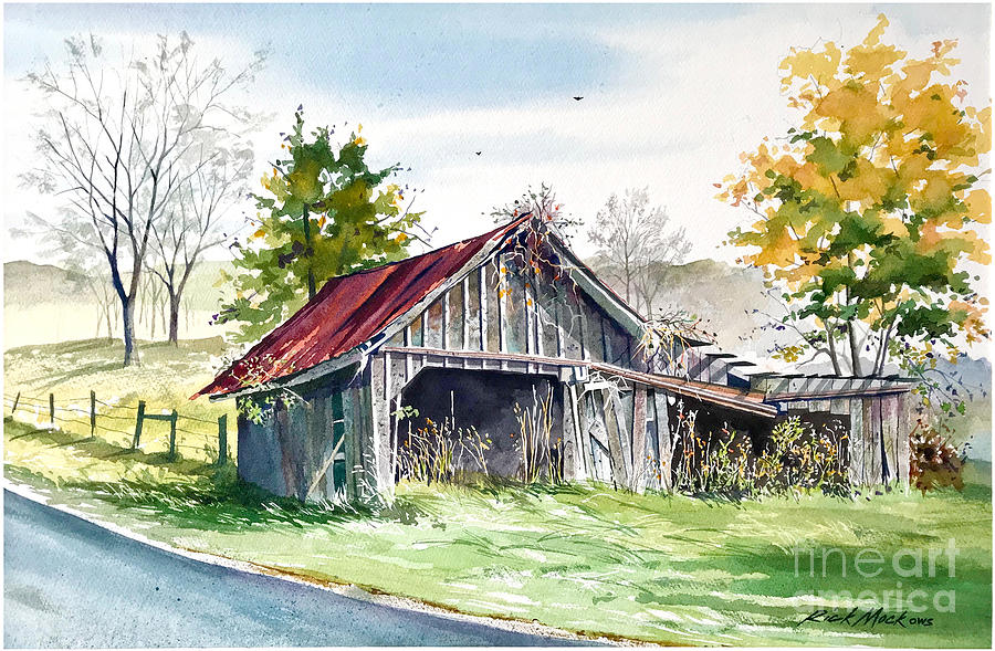 Abandoned Barn by Rick Mock