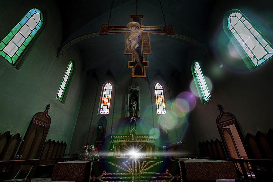 ABANDONED BLUE CHURCH - Chiesa Blu abbandonata by Enrico Pelos