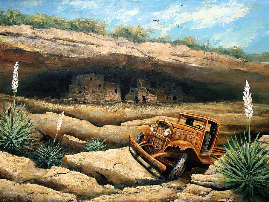 Landscape Painting - Abandoned by Brooke Lyman