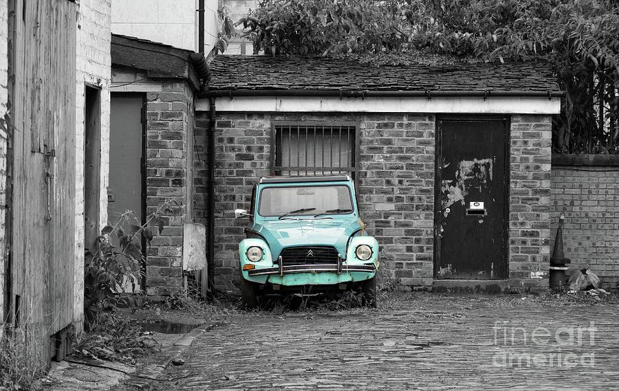Abandoned Car Photograph