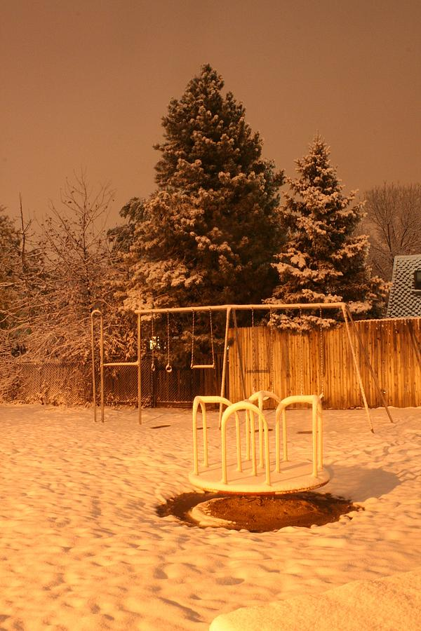 Snow Photograph - Abandoned by Cassandra Wessels