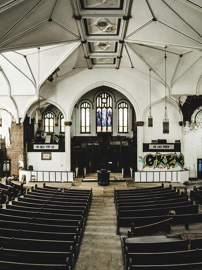Abandoned Photograph - Abandoned Church. Dilapidated Church In St. Louis by Dylan Murphy