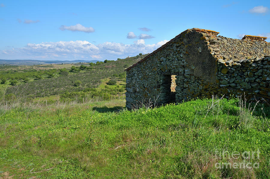 Abandoned Photograph - Abandoned Cottage In Alentejo by Angelo DeVal