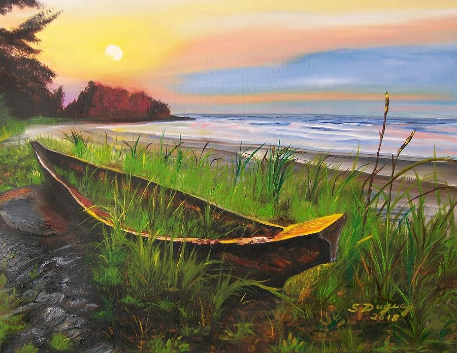 Abandoned Dhow  by Sharon Duguay