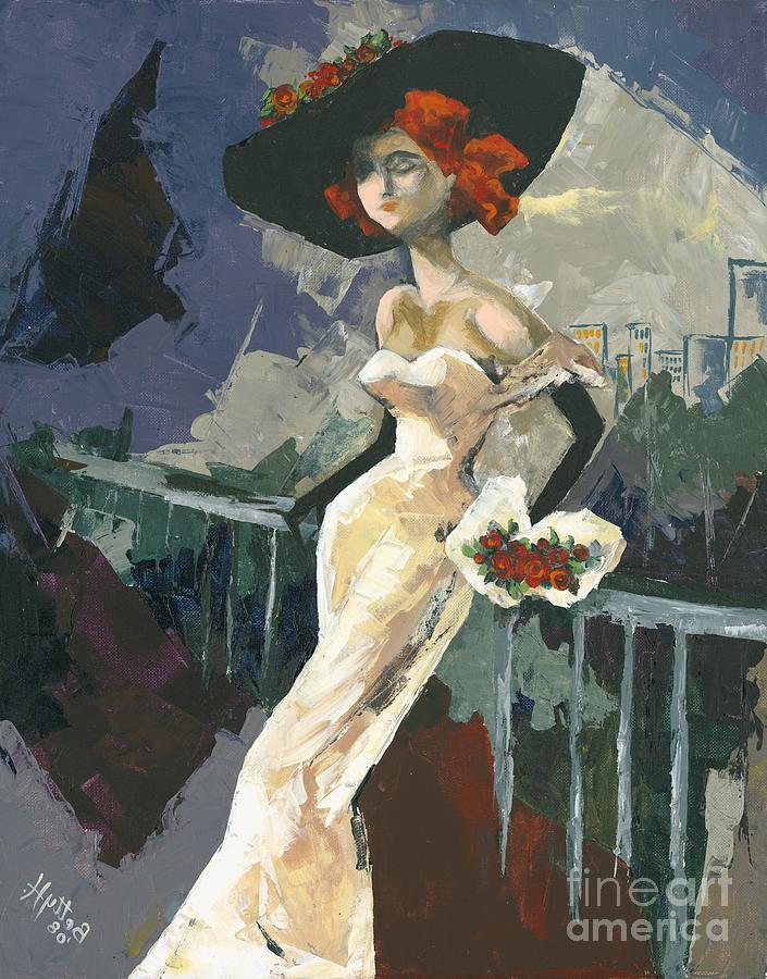Acrylic Painting - Abandoned by Elisabeta Hermann