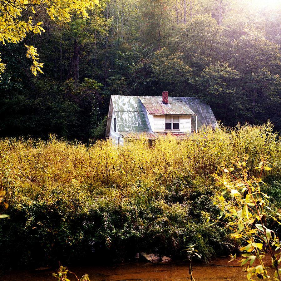 Farm Photograph - Abandoned Farm Home by George Ferrell