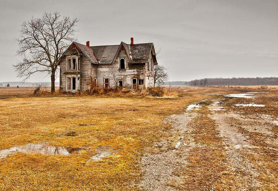 Abandoned farm house photograph by cale best for Best farm house