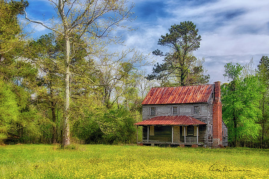 Abandoned Farmhouse 4996 Photograph