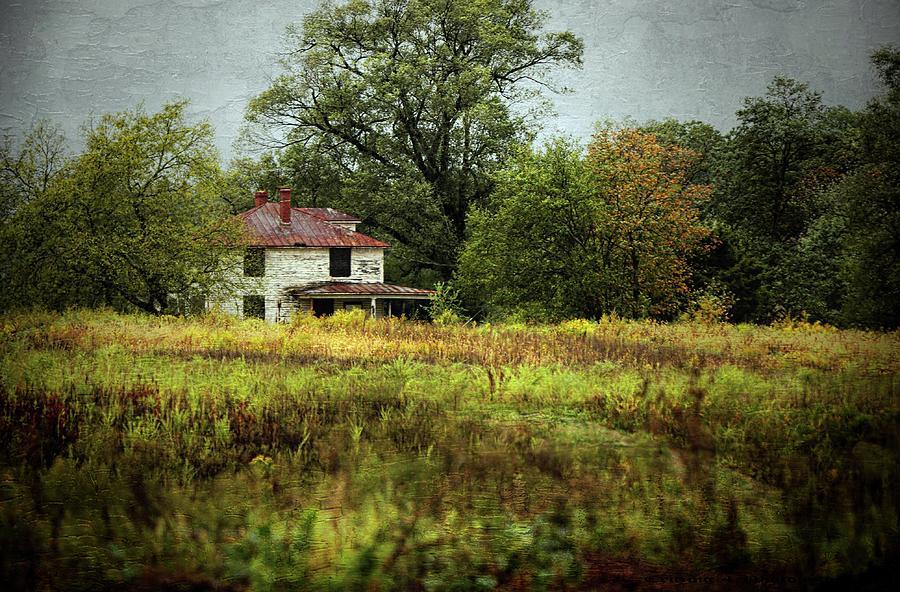 Abandoned Farmhouse Photograph by Scott Fracasso