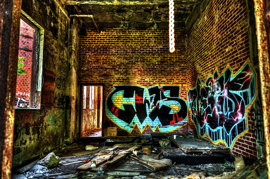 Hdr Photograph - Abandoned, Hdr by Tim Buisman