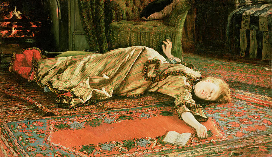Tissot Painting - Abandoned by James Jacques Joseph Tissot
