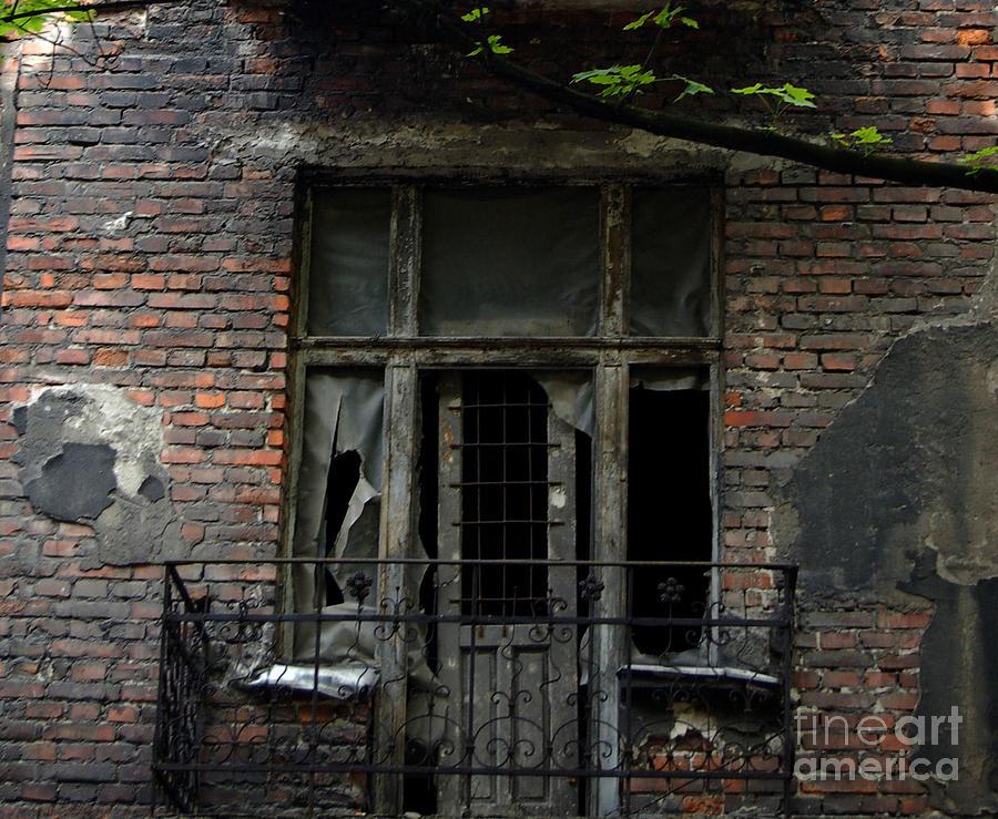 Krakow Photograph - Abandoned Krakow Poland by Wayne Higgs