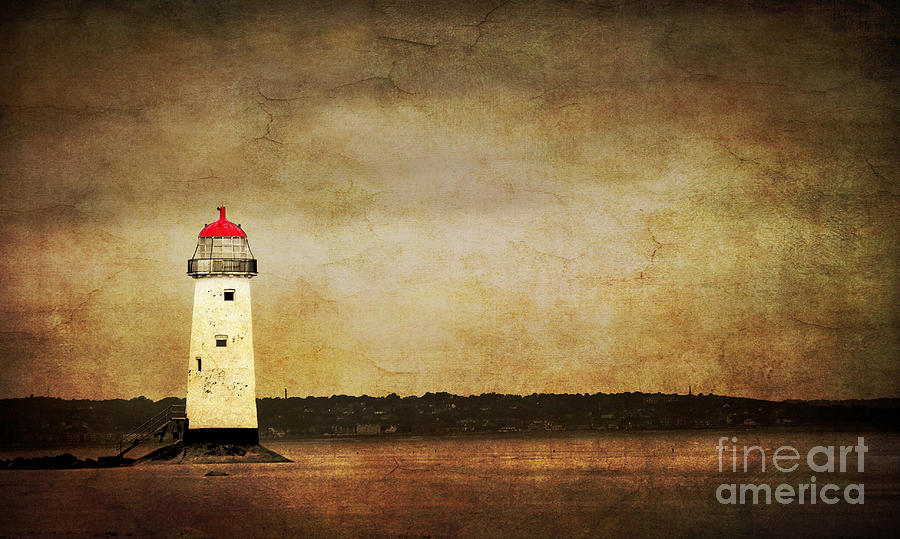 Abstract Photograph - Abandoned Lighthouse by Meirion Matthias