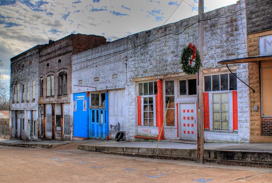 Abandoned Photograph - Abandoned Main Street by Douglas Barnett
