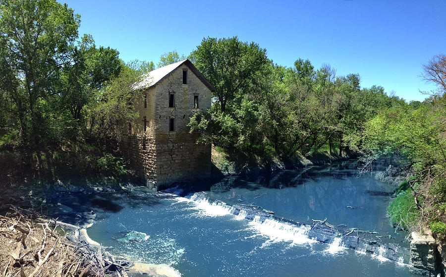 Abandoned Mill at Cedar Point by Rod Seel