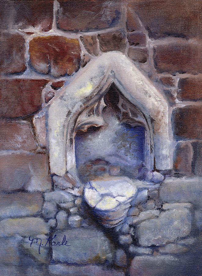 Abandoned Pedestal by Marsha Karle