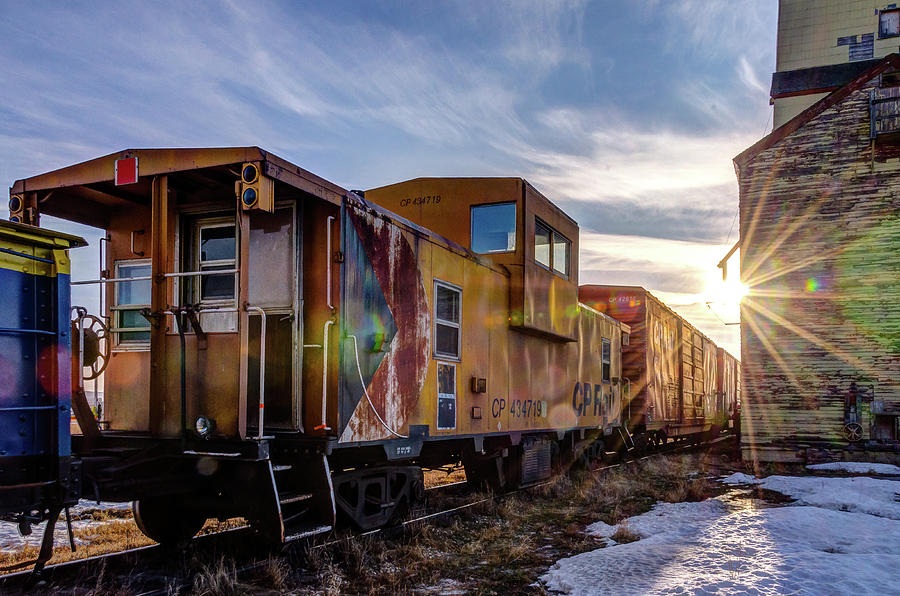 Mossleigh Photograph - Abandoned Railcar by Bruno Doddoli