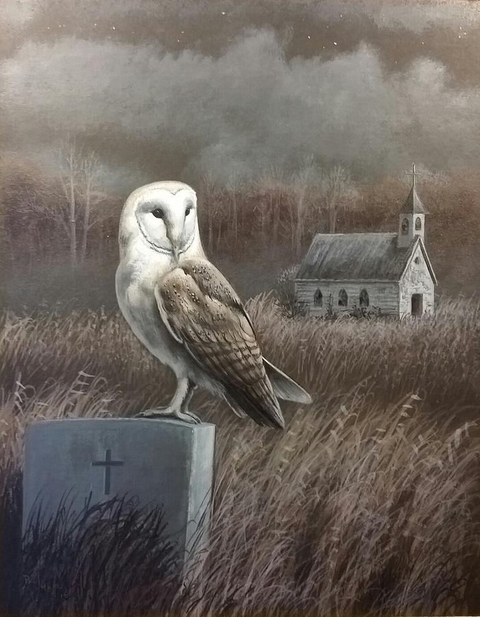 Abandoned Sanctuary Painting By Paul Makuchal