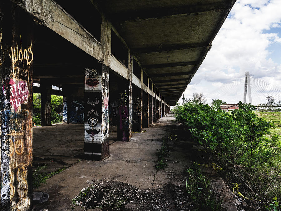 Abandoned Photograph - Abandoned Structure - Lacledes Landing by Dylan Murphy