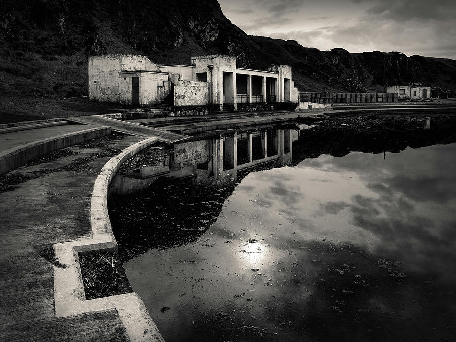 Pool Photograph - Abandoned Swimming Pool by Dave Bowman