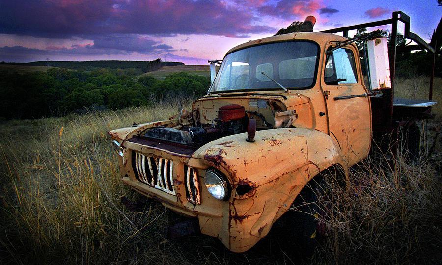Truck Photograph - Abandoned by Tim Nichols